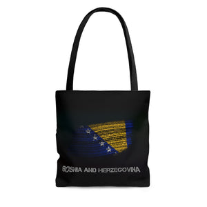 Bosnian AOP Tote Bag - JsFashionUS