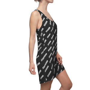 Js Fashion Dress-Women's Cut & Sew Racerback Dress - JsFashionUS
