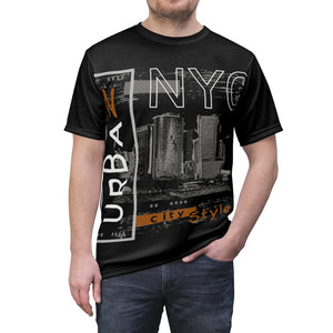 NYC Tee-New York T-shirt-Unisex AOP Cut & Sew Tee - JsFashionUS