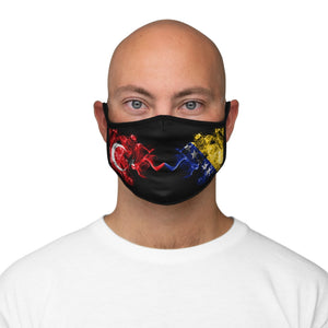 Bosnian Turkish Face Mask-Fitted Polyester Face Mask - JsFashionUS