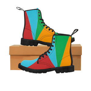 Women's Canvas Boots - JsFashionUS