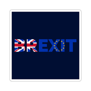Brexit Sticker-Kiss-Cut Stickers - JsFashionUS