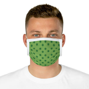 Clover Pattern Cotton Face Mask (EU) - JsFashionUS