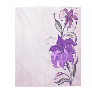 Flower Art Blanket-Velveteen Plush Blanket - JsFashionUS
