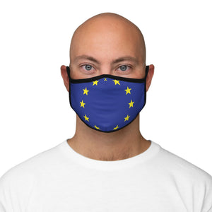 EU Face Mask-Fitted Polyester Face Mask - JsFashionUS