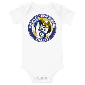 Bosnian Baby short sleeve one piece - JsFashionUS