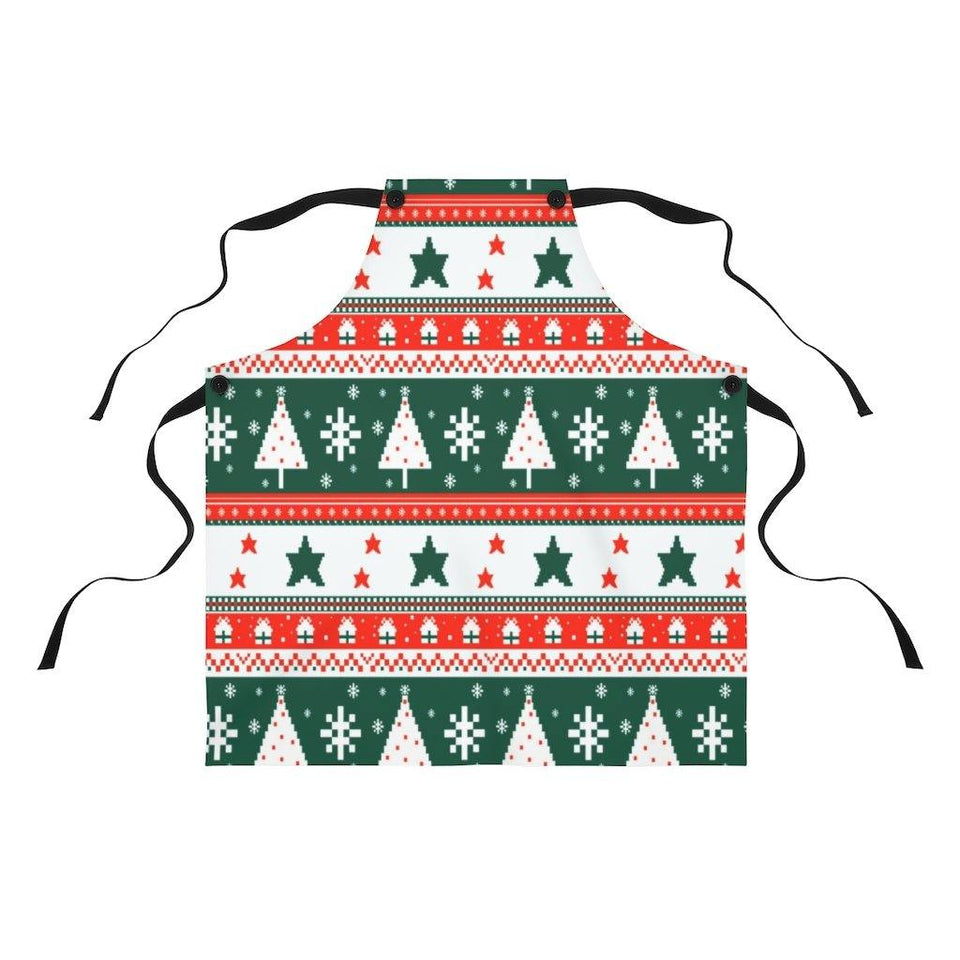 Traditional Patterns Apron-Apron - JsFashionUS