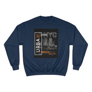 NYC Sweatshirt-New York Sweatshirt-Champion Sweatshirt - JsFashionUS
