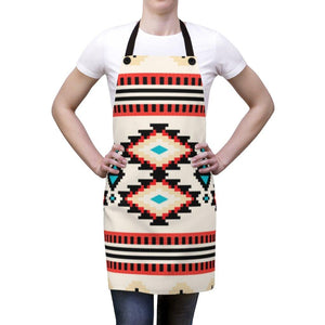 Traditional Pattern Apron-Apron - JsFashionUS