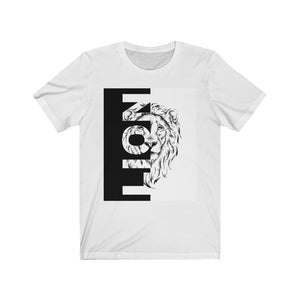 Lion T-shirt-Unisex Jersey Short Sleeve Tee - JsFashionUS