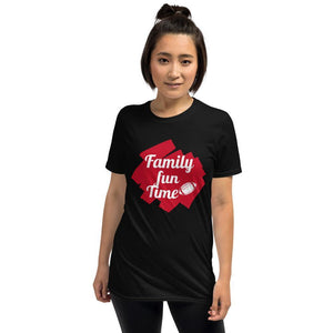 Family Time Tee-Short-Sleeve Unisex T-Shirt - JsFashionUS