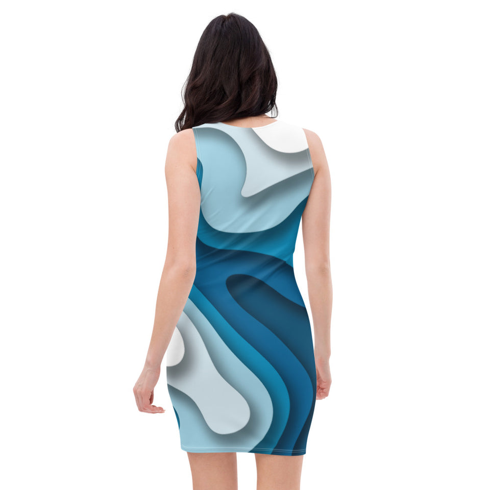 Sublimation Cut & Sew Dress-Dresses - JsFashionUS