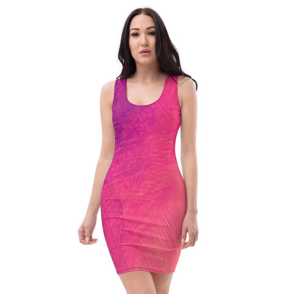 Sublimation Cut & Sew Dress-Dresses-Women's Dress - JsFashionUS
