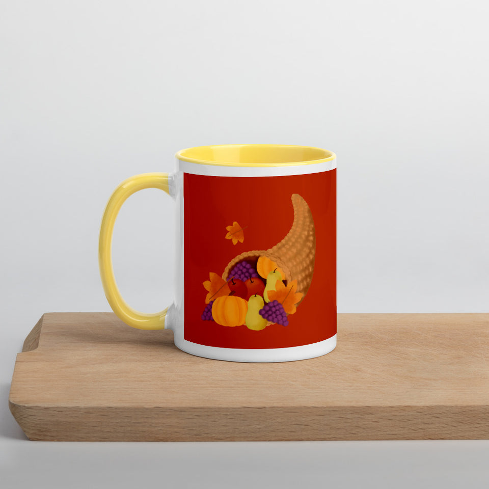 Give Thanks For All Things Mug-Thanksgiving Gifts - JsFashionUS