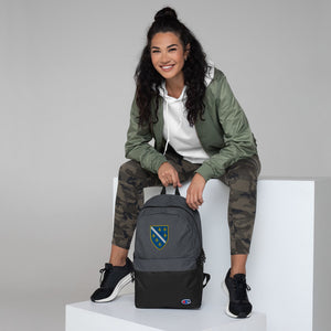 Embroidered Champion Backpack-Bosnian Backpack - JsFashionUS