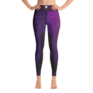 Yoga Leggings-Leggings-Zen Geometry Art Leggings - JsFashionUS