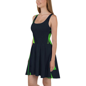 Skater Dress-Party Dress-Party Outfit - JsFashionUS