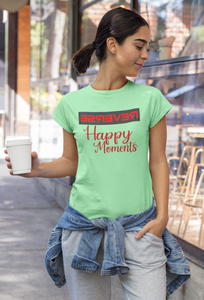Happy Moments Tee-Women's Happy Moments Shirt - JsFashionUS