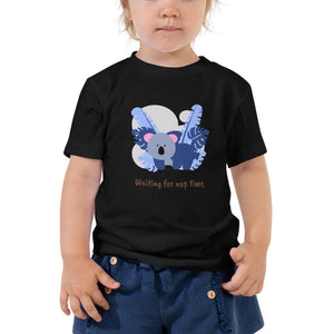 Waiting For Nap Time Kids Tee-Toddler Short Sleeve Tee - JsFashionUS