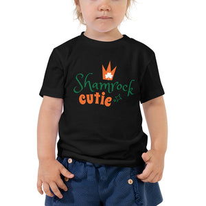 Shamrock Cutie Toddler Short Sleeve Tee - JsFashionUS