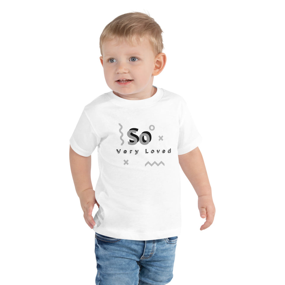 So Very Loved Tee-Toddler Short Sleeve Tee - JsFashionUS