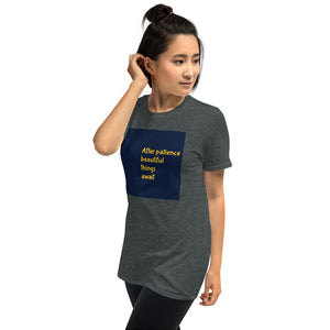 Motivational Tee-Short-Sleeve Unisex T-Shirt - JsFashionUS