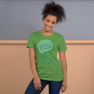 Shake Your Shamrocks Short-Sleeve Unisex T-Shirt - JsFashionUS