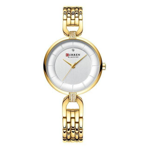 Ladies' rhinestone quartz watch