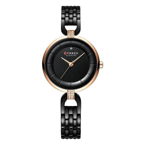 Image of Ladies' rhinestone quartz watch