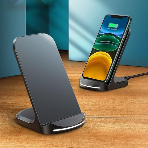 Multi wattage QI standing charger.