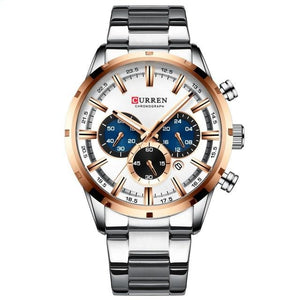 Beautiful, elegant and sporty men's watch.