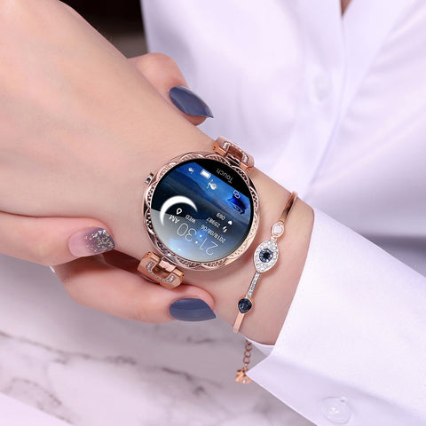 Image of Ladies' elegant, delicate smartwatch.