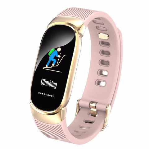 Image of Stylish athletes' sports smart watch