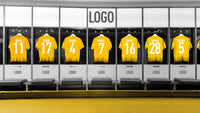 Football Print Club Board Changing Rooms - Make Your Own