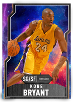 Basketball Card - Galaxy Kobe Bryant