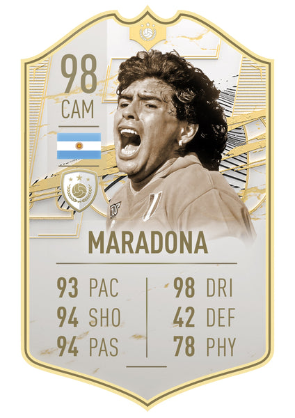 Club Player -  Icon Moments 21 Maradona