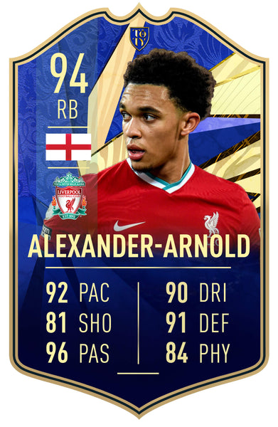 Club Player - Trent Alexander Arnold TOTY 21