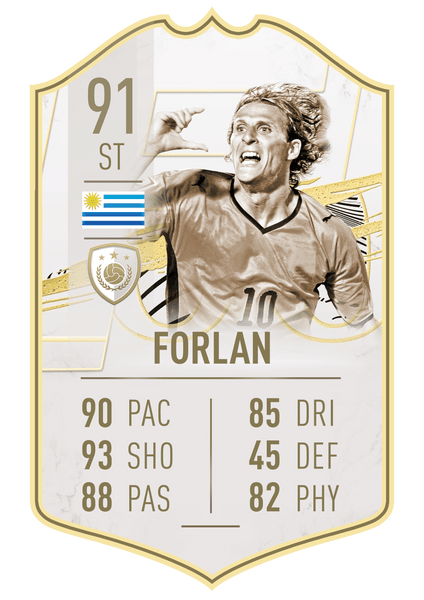 Club Player - Icon Forlan 21
