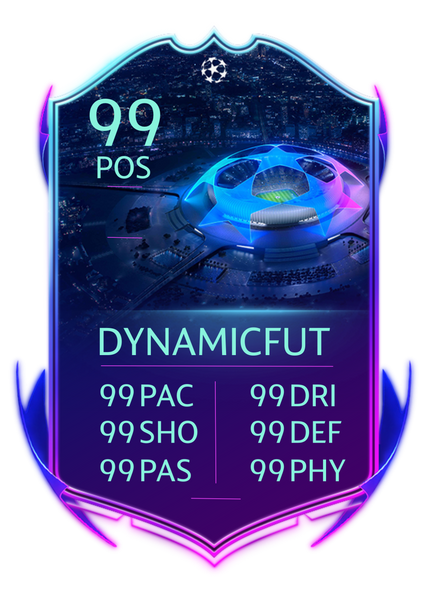FUT 20 Custom Card - UCL Live