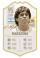 Club Player - Maradona Mid 21
