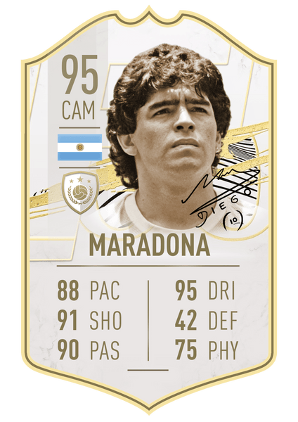 Signature Collection - Maradona