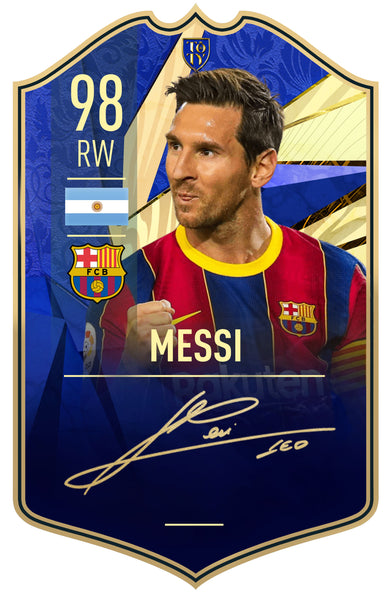 Signature Collection -  Messi TOTY
