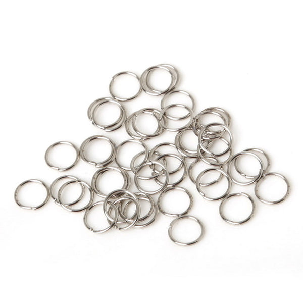 Open Jump Rings Silver/Gold/Brass Split Connectors For Diy Jewelry Finding Making Earrings Accessories