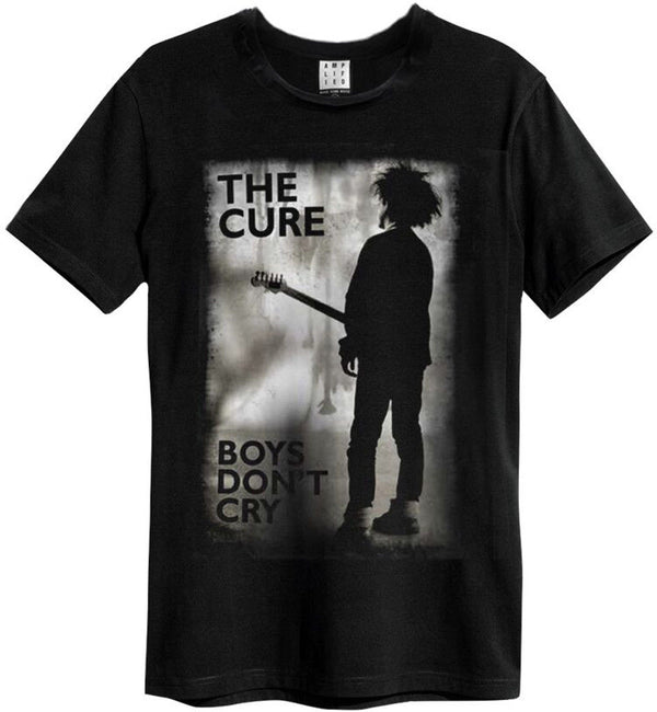 The Cure 'boys Don't Cry' ( Black ) T Shirt Amplified Clothing New & Official Men's T Shirts Short Sleeve O Neck Cotton Colors