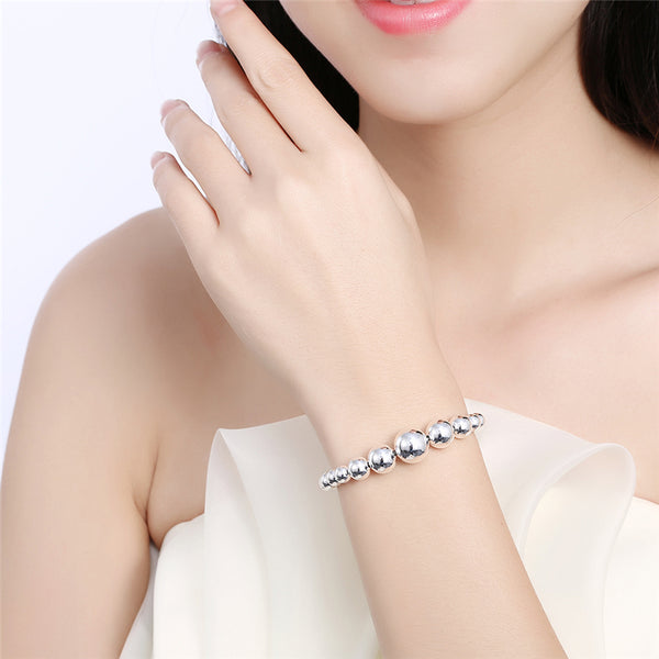 Women's Jewelry full Heart Bracelet 20cm For Gift Girl Lady Free Shipping Hot Sale Gift Wholesale
