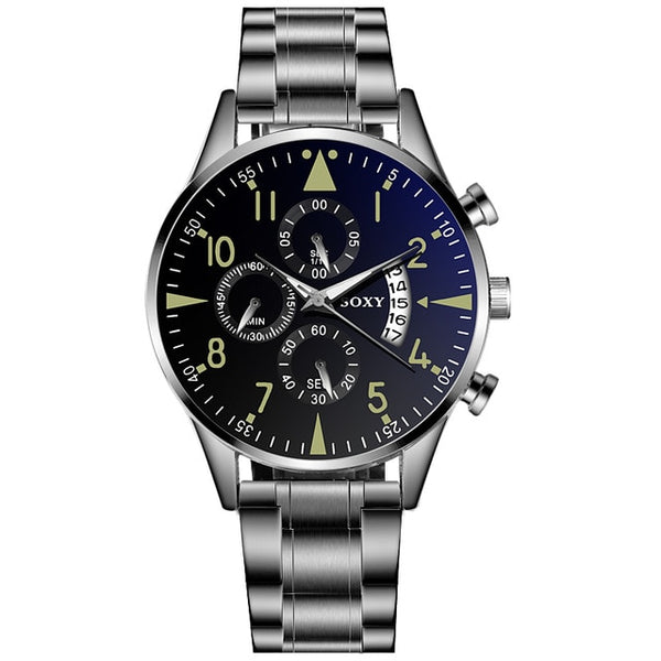 Men's Watch Top Brand Luxury Watch Men Sport Watches For Men Relojes Hombre 2019 Stainless Steel Clock relogio masculino
