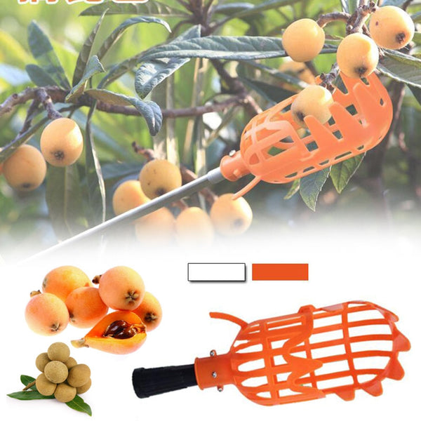 Garden tools fruit picker gardening fruits Collection picking Head tool Fruit Catcher Device Greenhouse Fruit hook