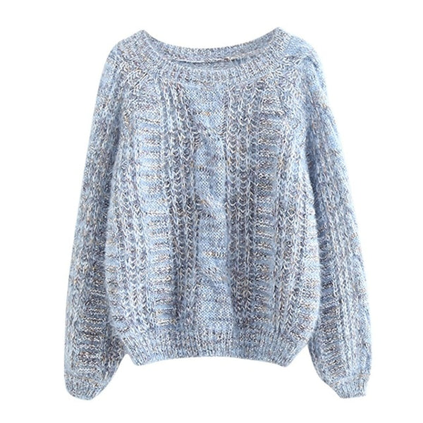New Women's O-Neck Sweater Women Sweaters Fashion Jersey Women Winter 2020 Autumn Pullover Women Sweater Jumper Truien Dames new