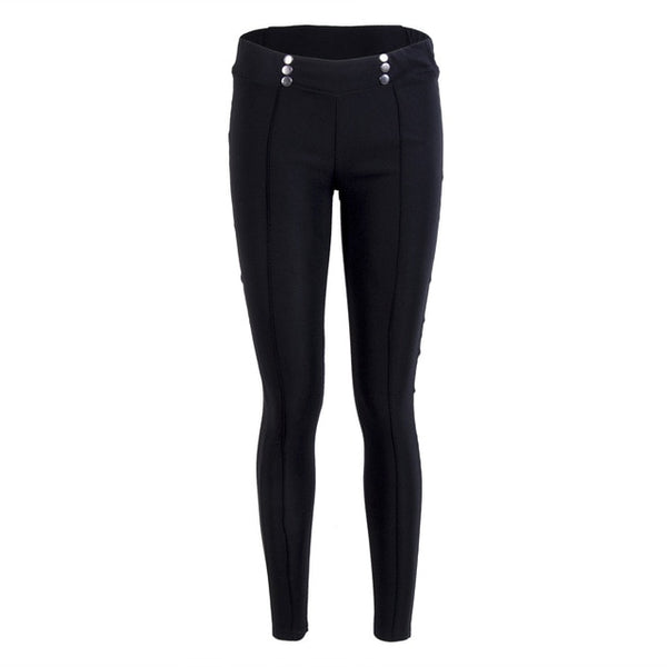 Pants for Women Stretch Skinny High Waist Pencil Pants Slim Trousers Casual Leggings S-XL