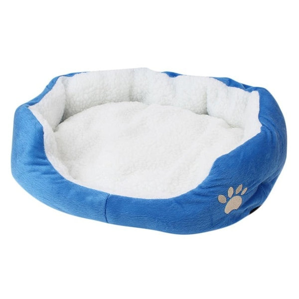 Wholesale Paw Pet Sofa Dog Beds Waterproof Bottom Soft Fleece Warm Cat Bed House Petshop cama perro